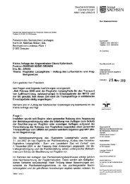 Halle - Vollzug des Luftverkehrs- und Fluglärmgesetzes Drs.-Nr.