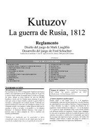 La guerra de Rusia, 1812 - GMT Games