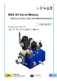 NGV A3 VALVE MANUAL - G.m.v.