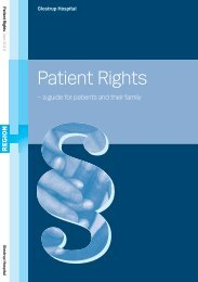 Patient Rights - Glostrup Hospital