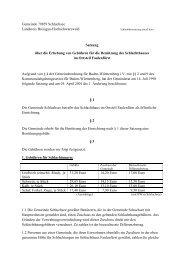 Schlachthaussatzung aktuell.pdf - Gemeinde Schluchsee