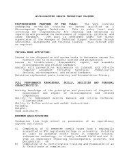 microcomputer repair technician trainee - Broome County