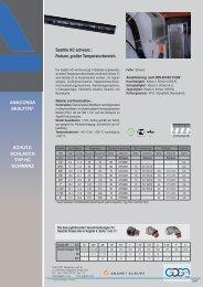 HC, HCX Schläuche mit erhöhtem Temperaturbereich - Gogatec