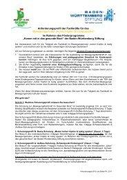 Anforderungsprofil BeMo-FK_2011neu - Gesunde Kinder - Kommt ...