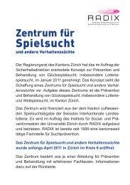 Spielsucht - Institut für Sozial- und Präventivmedizin der Universität ...