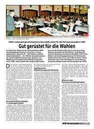 Gut gerüstet für die Wahlen - GEW Niedersachsen