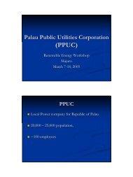 Palau Public Utilities Corporation