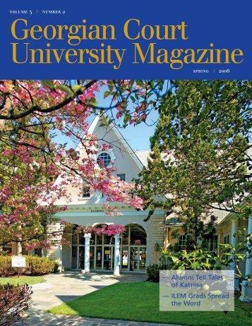 Alumni Tell Tales of Katrina - Georgian Court University