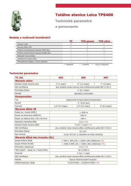 Technické parametre a porovnanie - Geotech b48e3283fa3