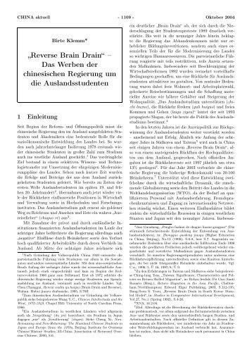 Reverse Brain Drain - GIGA German Institute of Global and Area ...