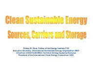 The Future Transportation with Sustainable Energy - Global ...