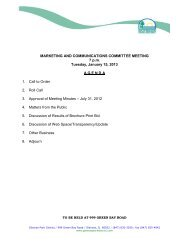 MARKETING AND COMMUNICATIONS COMMITTEE MEETING 7 ...