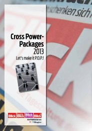 Cross Power- Packages 2013 - Go4media.ch