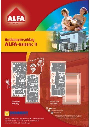 Ausbauvorschlag ALFA-Balearic II - GIF-Immobilien