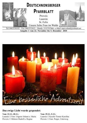 (1,67 MB) - .PDF - Gemeinde Unsere liebe Frau im Walde - St.Felix