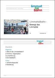 Limmattalbahn - - gdi