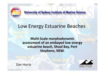 Low Energy Estuarine Beaches gy