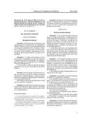Normas de Gobierno Interior del Parlamento de Canarias