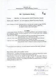 FRIALEN elektrotvarovky a tvarovky na tupo - plyn