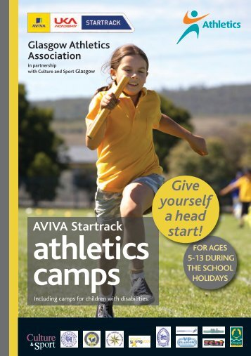 athletics camps - Glasgow Life