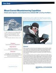 Mount Everest Mountaineering Expedition - Itronix