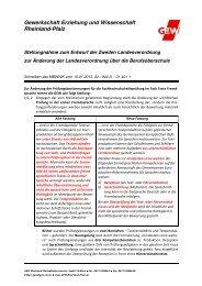 2013_02_15_Zweite_LVO_ BOS.pdf - GEW Rheinland-Pfalz