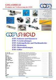 Download GOGASHIELD GESAMTKATALOG - Gogatec
