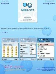 Mobi chat ZGroup Mobile - Get Mobile game