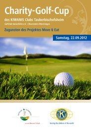 Charity-Golf-Cup - Golfclub Kaiserhöhe