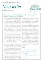 Ghorfa-Newsletter 11-2010