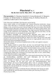 Pfarrbrief Nr. 3 - Gdg-steinfeld.de