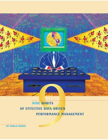 Nine Habits of Effective Data-Driven Performance Management