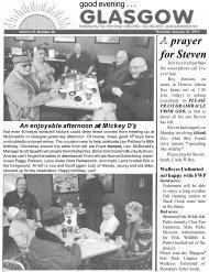 Prayer Steven For - Glasgow Montana
