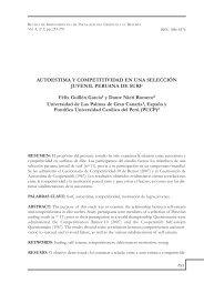 Autoestima y competitividad en una selección juvenil ... - ulpgc