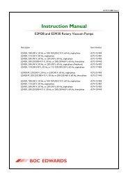 Edwards rotary pumps E2M28-30 manual ENG.pdf - Gemini BV