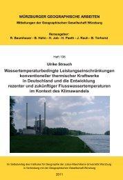 Wassertemperaturbedingte Leistungseinschränkungen ...