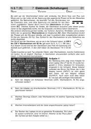 N & T (R) 7 Elektronik (Schaltungen) 01 - Gegenschatz.net