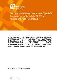 Sector d'activitats econòmiques DeltaBCN Parc Aeroespacial i de la ...