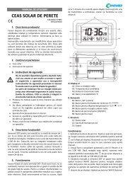 CEAS SOLAR DE PERETE - German Electronics