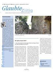 Ausgabe 2012 Nr. 01 - Ein gutes neues Jahr? - Reformierte ...