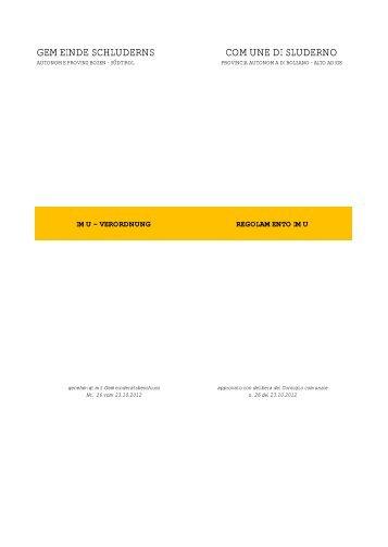 IMU Verordnung (41 KB) - .PDF