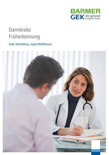 Darmkrebs Früherkennung ( PDF , 1 MB ) Hinweis - Barmer GEK