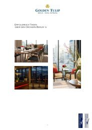 Download Tagungs- und Veranstaltungsmappe - the Golden Tulip ...