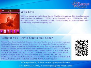 With Love Without You David Guetta feat. Usher - Get Mobile game