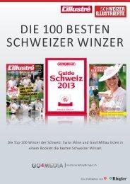 Die 100 besten Winzer der Schweiz - Go4Media