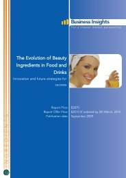 The Evolution of Beauty Ingredients in Food and - Business Insights