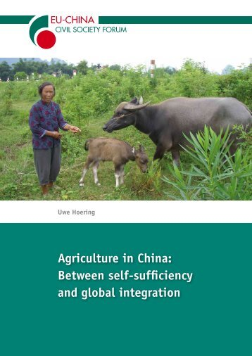 Agriculture in China - EU-China Civil Society Forum