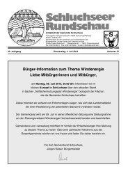 Rundschau Nr. 27.pdf - Gemeinde Schluchsee