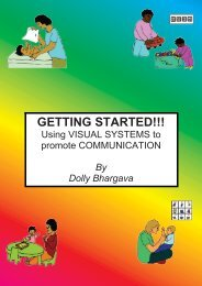Getting Started: Using Visual Systems to Promote Communication