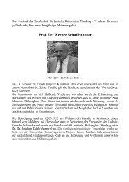 Nachruf_Schuffenhauer_GKPN - Gesellschaft für kritische Philosophie